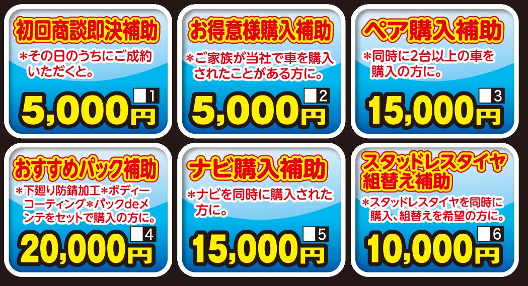 アサノ10万円分購入サポート